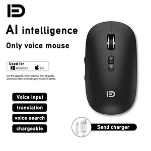 Ai voice recognition wireless Bluetooth mouse