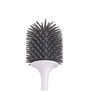 50%OFF-Ecoco Long handle free punching wall-mounted soft toilet brush
