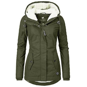 Waterproof Warm Hooded Winter Coat