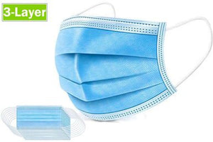 3 PLY DISPOSABLE MASKS (PACK OF 50)