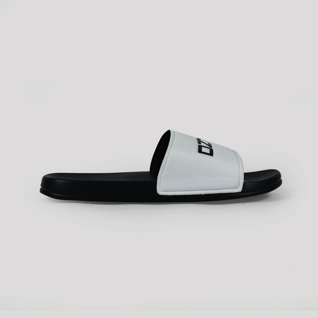OZTAG SLIDES - WHITE/BLACK