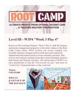 Root Camp Level III - Work 3 Play 4 - W3P4 Program