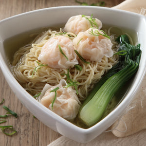 Shrimp & Pork Wonton  Noodle Soup
