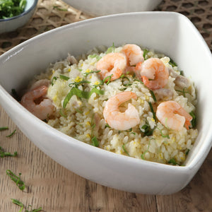 Fried Rice with Shrimp & Egg