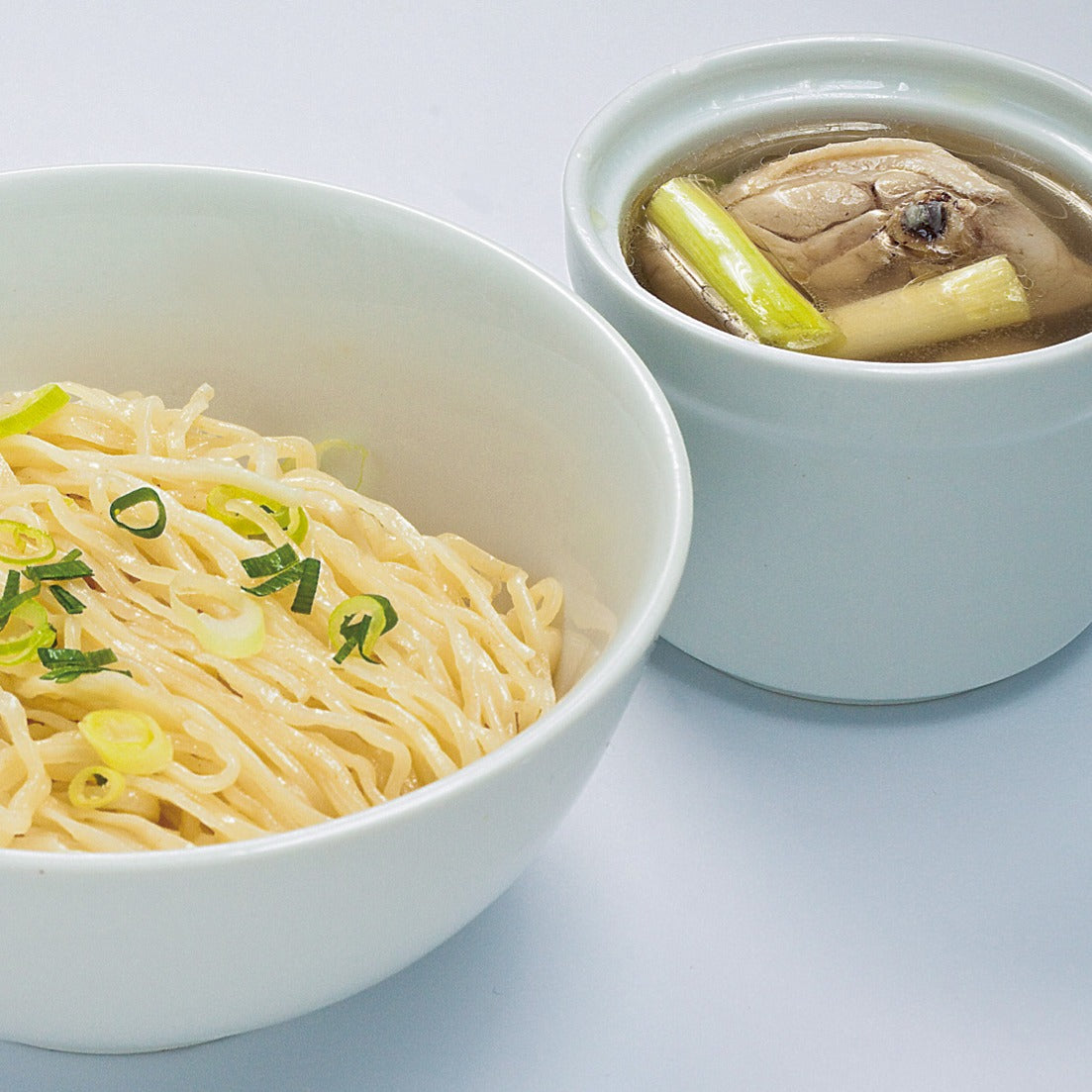 Noodles with Double-boiled Chicken Soup