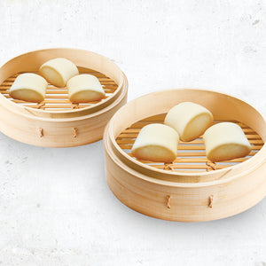 Steamed Mantou (6 Pcs)