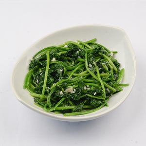 Stir fry taiwanese spinach