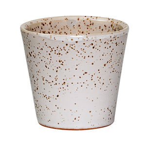 Brown Speckled Stoneware Votive (Set of 4)