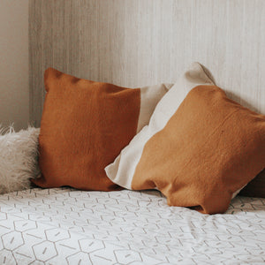 Large Two Tone Cushion Cover