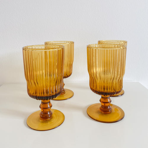 Amber Wine Glass (Set of 4)
