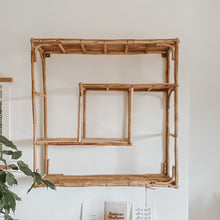 Load image into Gallery viewer, Bamboo Square Shelf