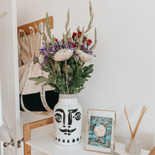 Load image into Gallery viewer, Stoneware Vase with Face
