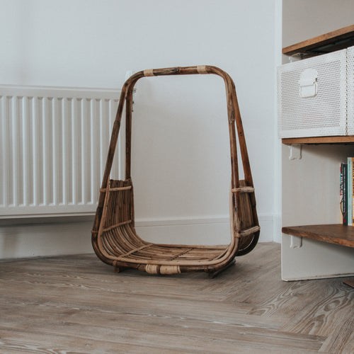 Open Cane Storage Basket