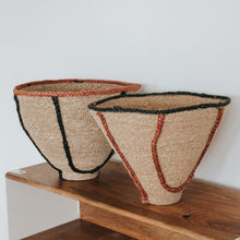 Load image into Gallery viewer, Natural Jute Baskets - (Set of 2)