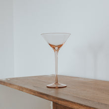 Load image into Gallery viewer, Rose Cocktail Glass