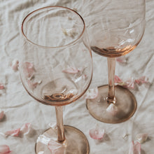Load image into Gallery viewer, Rose Wine Glass