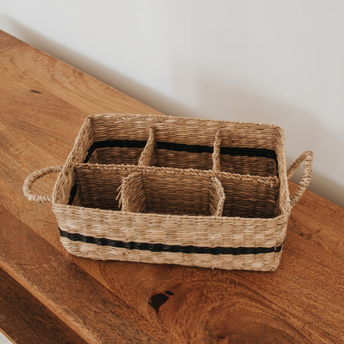 Slotted Storage Basket