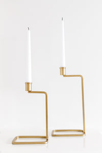 Angled Candle Stick Holder - Large