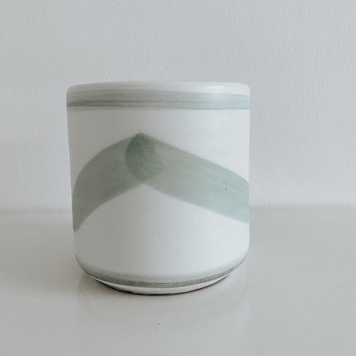 Deco Painted Plant Pot