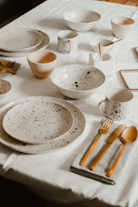 Speckled Dinner Plate