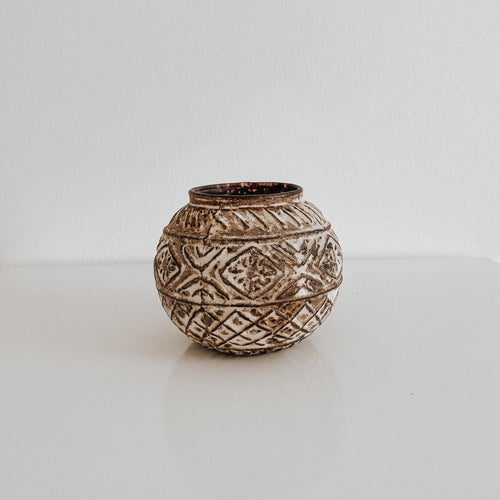 Boho Glass Votive