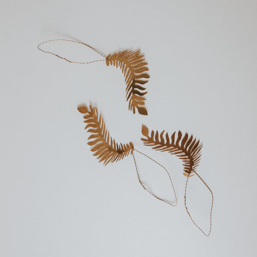 Wild Fern Decoration (Set of 3)
