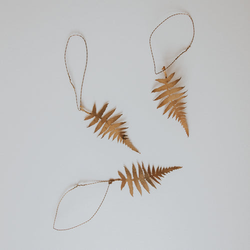 Fern Leaf Decoration (Set of 3)