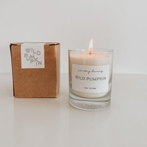 Wild Pumpkin Candle