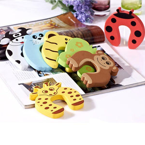 Baby Safety Door Stopper 10pcs - Berry Scotch