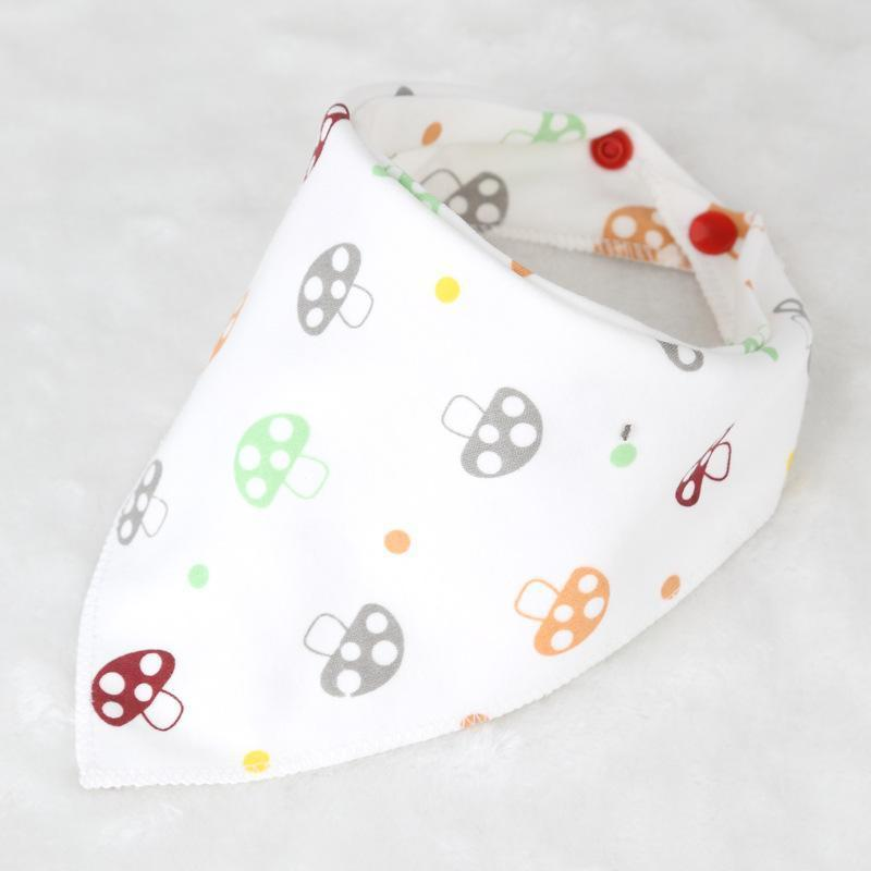 Cartoon Character Triangle Baby Bibs - Berry Scotch