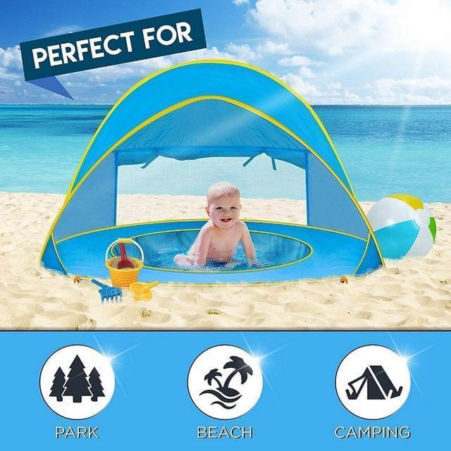 Baby Beach Tent - Berry Scotch
