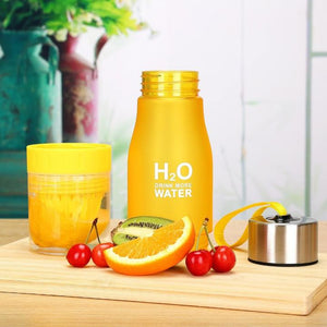 H2O Fruit Infusion Water Bottle - Berry Scotch