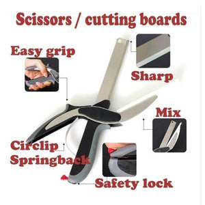 2 in 1 Smart Cutter Scissors - Berry Scotch