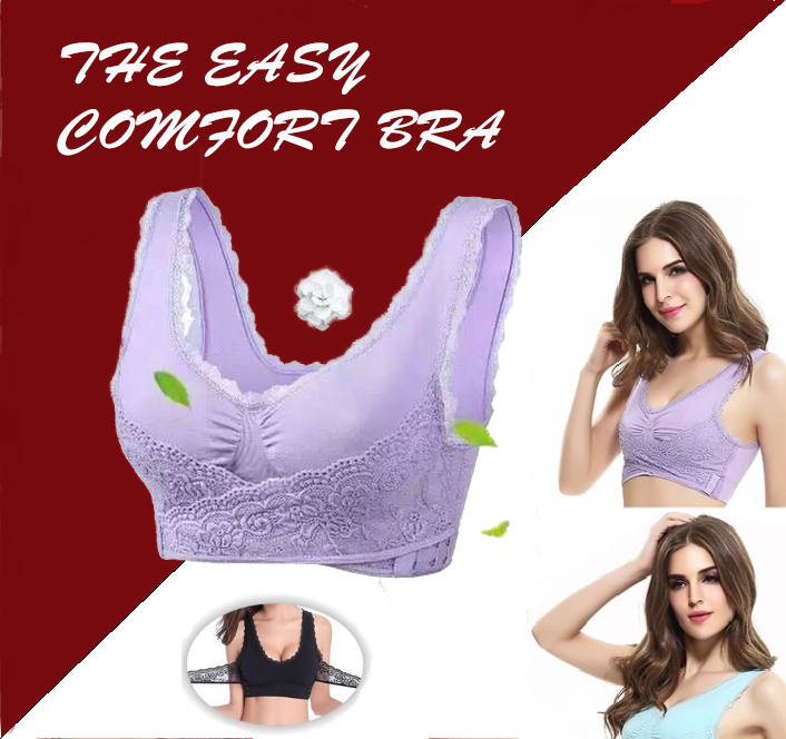 Easy Comfort Bra - Berry Scotch