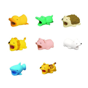 Cute Animal Phone Cable Protector - Berry Scotch