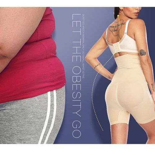 B-Shape™ High Waist Shaper Pants - Berry Scotch