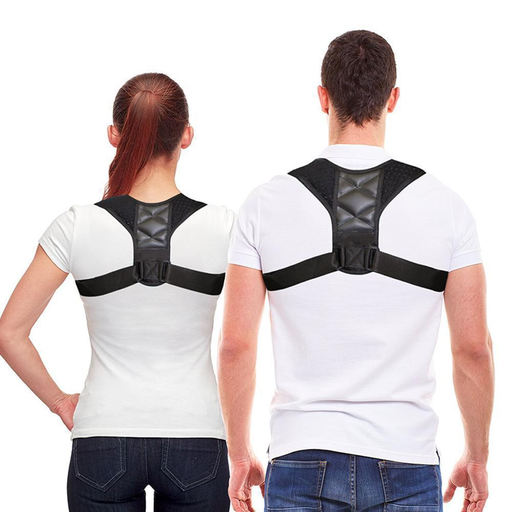 Adjustable Back Posture Corrector - Berry Scotch
