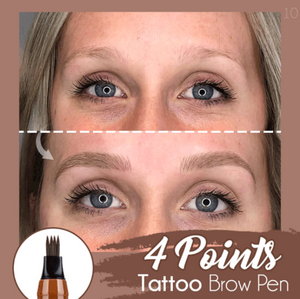 4 Points Tattoo Brow Pen - Berry Scotch