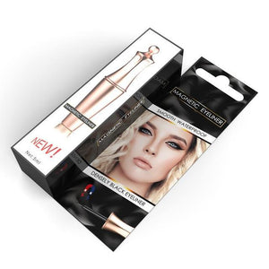 2020 Premium Magnetic Eyelashes and Eyeliner Set - Berry Scotch