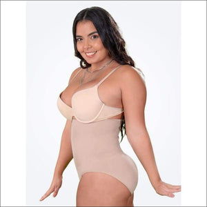 B-Shape™ High Waist Shaper Panties - Berry Scotch