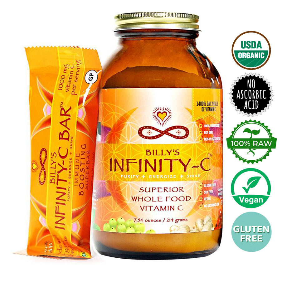 Infinity-C Powder + Infinity-C Bars Bundle