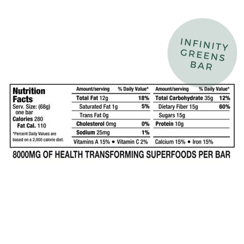 Infinity Greens Powder + Infinity Green Bars Bundle