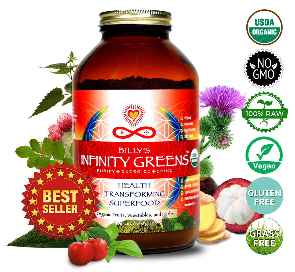 Infinity Greens Powder