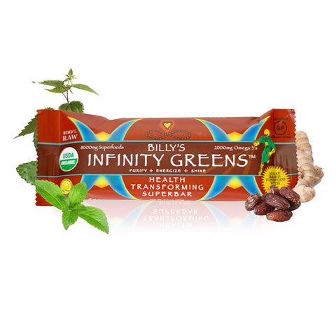 Infinity Green Bars (Box of 12)