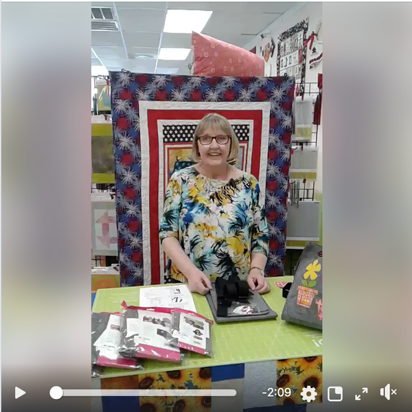 Easy One Hour Quilting Projects & Kits for Backpack and Purses