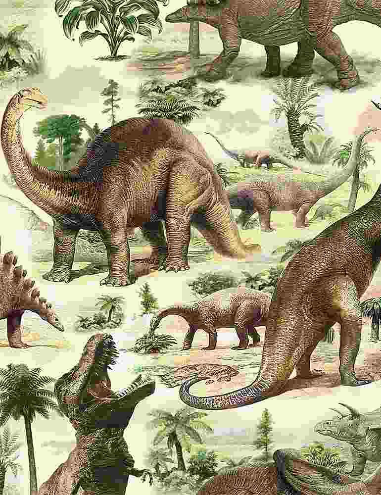 All Over Dinosaurs