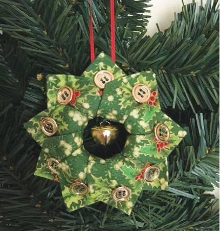 Cut Loose Press Holiday Wreath Ornament Pattern