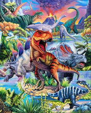 Load image into Gallery viewer, Dino World Panel 36' Digitally reprinted