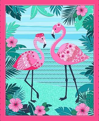 Flamingo Beach Panel