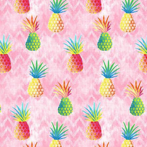 Colorful Pineapples - Pink